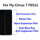 3pcs For Fly Cirrus 7 FS511 Nano Explosion/Anti Blue Ray Screen Protector