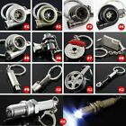 Jdm Car Parts Racing Sorted Turbo Piston Exhaust Keychain Keyring Fob Key Ring