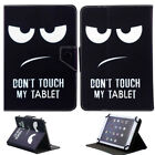 "For 7"" 10"" 10.1"" Inch Android Tablet Universal PU Leather Case Cover Kids Gift"
