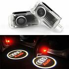 2x LED Car Door Welcome Projector Logo light for Benz Audi BMW VW TOYOTA
