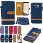 Flip Leather Wallet Card Case Cover for Samsung Galaxy A3 A5 2017 A8 2018 Plus