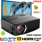 4K Wifi Android 6.01 Bluetooth LED Projector 1080P HD Home Theater HDMI USB VGA