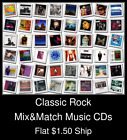 Classic Rock(2) - Mix&Match Music CDs U Pick *NO CASE DISC ONLY*