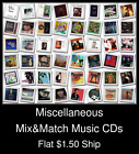 Miscellaneous(5) - Mix&Match Music CDs U Pick *NO CASE DISC ONLY*