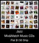 Jazz(10) - Mix&Match Music CDs U Pick *NO CASE DISC ONLY*