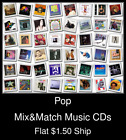 Pop(18) - Mix&Match Music CDs U Pick *NO CASE DISC ONLY*
