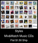 Styles(47) - Mix&Match Music CDs U Pick *NO CASE DISC ONLY*