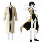 Anime Bungo Stray Dogs Dazai Osamu Uniform Outfit Suit Set Party Cosplay Costume