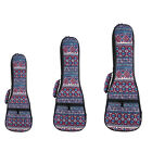 """21"""" 23"""" 26"""" Soft Pad Cotton Gig Hand Padded Bags Case Cover for Concert Ukulele"""