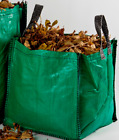 Weed 'n' Pull GREEN WEEDING BAG Leaf Garden Waste Cuttings Compost - 90 litre