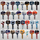 NFL Officially Licensed Football Team House Key Blank, Kwikset Schlage $6.94 USD on eBay