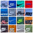 Men's NIKE T-SHIRT S-4XL Graphic Swoosh-Just-Do-It Logo Crew Athletic Fit Tee image
