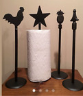 Внешний вид - Amish Made Wrought Iron Paper Towel Holder Made in USA