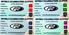 200 F2 Medical Nitrile Examination Gloves Available in XS. S. M. L. Dentists