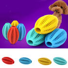 Dog Training Teething Care Supplies Rubber Soccer Play Toy Chew Treat Cleaning