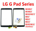 u For LG G Pad Series Tablet Touch Screen Digitizer Panel New Replacement