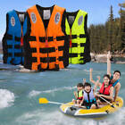 Polyester Adult Kids Life Jacket Vest Swimming Boating Ski Foam Vest+Whistle
