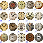 15 Large Vintage Wooden Wall Clock Shabby Chic Rustic Home Decor Antique Style
