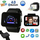 LATEST DM98 Smart Watch Android Bluetooth 3G SIM GPS WiFi 4GB Phone Mate Camera