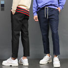 Men's fashion Stretchable Elasticized Waistband 4/5 Denim Pants 051, GENTLER