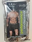 Leo Poldo Mens 3-Pack CLIMALITE Boxer Brief Athletic Moisture-Wicking 100%Cotton