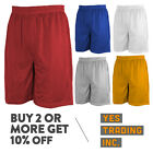 HI MENS PLAIN MESH SHORTS CASUAL BASKETBALL SHORTS 2 POCKET GYM SHORTS HIP HOP