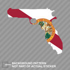 Gunshine Florida State Gun Shape Sticker Decal Vinyl FL Sunshine Guns 2A