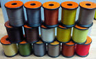 UNI Products, UNI-Thread, Waxed, 6/0, 200 or 50 yard spools, Various Colors