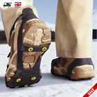 UNIVERSAL ICE GRIPS NON SLIP ON FOR SHOE BOOTS SNOW SPIKES GRIPPERS CLEATS STUDS