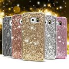 s4 mini back cover - Bling Glitter Shockproof TPU Soft Back Case Cover For Samsung S9 Plus A7 S8 Plus