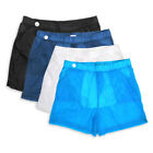 SIZE M-2XL MENS SHORTS SWIM STRETCHY TRUNKS QUICK DRY BEACH  FLAT FRONT  SHORTS