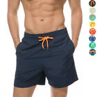 Men's Boardshorts Surf Beach Bathing Swimming Trunks with Pockets Fast Drying