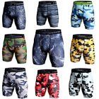 Men's Gym Sports Shorts Compression Trunks Camo Under Base Layer Athletic Tights