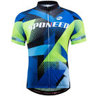 Cycling Clothing For Men Short Sleeve Mountain Road Riding Tight Biking Jersey