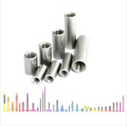 ROUND STUDDING CONNECTOR NUTS A2 STAINLESS STEEL ALL THREAD ROD BAR SLEEVE TUBE
