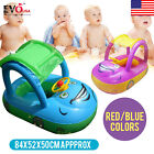 Safety Car Sunshade Inflatable Baby Float Seat Boat Swim Pool Water Sports Funny