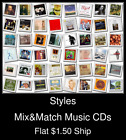 Styles(4) - Mix&Match Music CDs U Pick *NO CASE DISC ONLY*