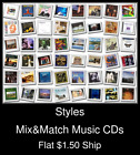 Styles(30) - Mix&Match Music CDs U Pick *NO CASE DISC ONLY*