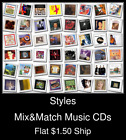 Styles(37) - Mix&Match Music CDs U Pick *NO CASE DISC ONLY*