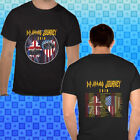 DEF LEPPARD JOURNEY NORTH AMERICAN TOUR 2018 Black & White Concert Tee S-3XL image