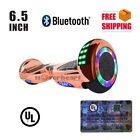 """Wheeltoys Bluetooth Hoverboard 6.5"""" Flash Wheel Self Balance Electric Scooter"""