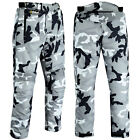 Motorcycle Motorbike Trousers Waterproof Cordura Textile Pants Armours Grey Camo