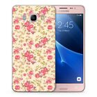 Colorful Women Ladies Cute Floral Quotes Cat Soft Cover Case Fits Samsung Galaxy