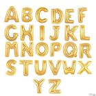 A to Z - 32'' Gold Letter Helium Air Filled Balloons Party Birthday Decorations