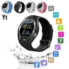 2018 Bluetooth Y1 Smart Watch Phone Mate For IOS Android W/Facebook Smartwatch A