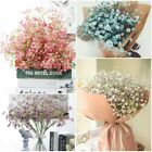 Artificial Fake Babys Breath Gypsophila Silk Flowers Bouquet Home Wedding Supply