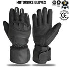 Motorbike Motorcycle Rider Leather CE Knuckled Lined Kevlar Gloves