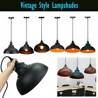 Vintage Industrial Retro Iron Ceiling Pendant Light Lampshade Loft Chandelier UK for sale  Shipping to Ireland