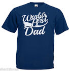 World's Best Dad Fathers Day Adults Mens T Shirt