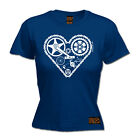 Ladies Cycling Heart Parts bicycle cycle funny Birthday For Her T SHIRT T-SHIRT